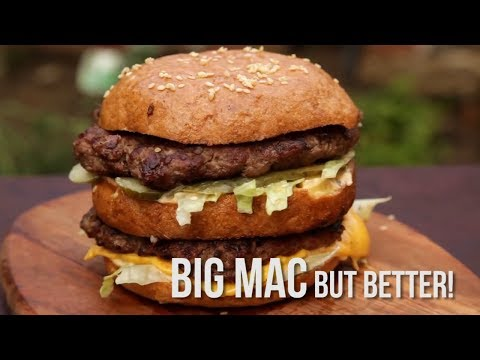 How to cook a McDonalds Big Mac (Quickie)
