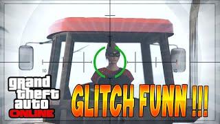 [GLITCH] Fun ! Conduire le Tracteur La tête retournée sur GTA Online ! Glitch 1.22