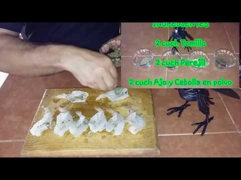 Dr Carbon - Camarones en Tabla con Chimichurri -