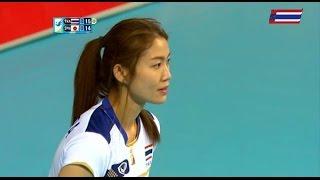 ไทย-ญี่ปุ่น: set 1 :วอลเลย์บอลหญิงเอเชี่ยนเกมส์ 2014: 21.9.2014