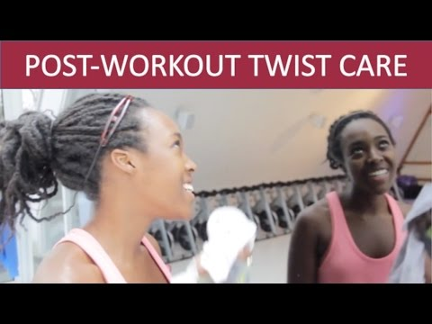 HOW TO WASH YOUR TWISTS | POST-WORKOUT HAIRCARE  *HIGHLY REQUESTED*