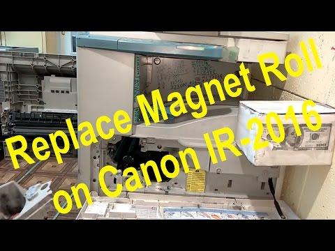 Repair Canon IR2016 replacing magnetic roller