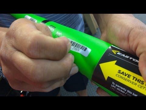 CheapBats.com Easton Hologram Sticker Bat Warranty Process