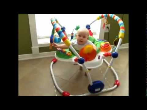 29decb20c8dd Bright Starts Critters Jumper - YouTube