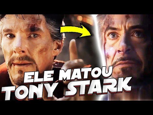 DR. ESTRANHO FOI O RESPONSAVEL PELA MORTE DE TONY STARK EM VINGADORES ULTIMATO