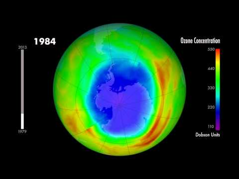 Minimum Ozone Concentrations 1979-2013