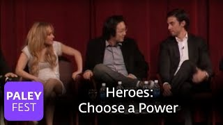 Heroes - Which Power Would They Want? (Paley Center)