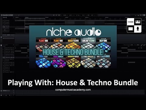 House & Techno Bundle by Niche Audio | Review | Computer Music Academy