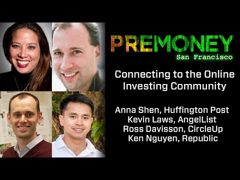 "[PreMoney SF 2016] ""Connecting to the Online Investing Community"""