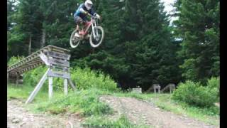 Downhill Mountain Biking Alps 2010, Morzine - Les Gets - Chatel
