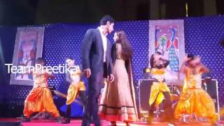 Harshad & Preetika dancing on BI title song