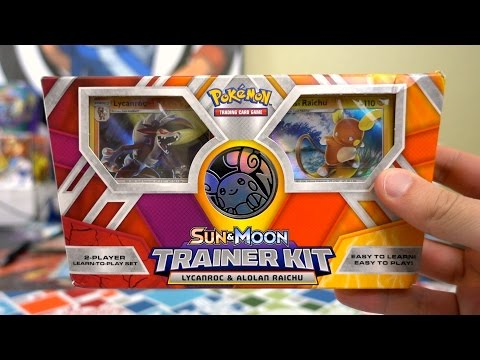 Opening A Sun & Moon Trainer Kit!!