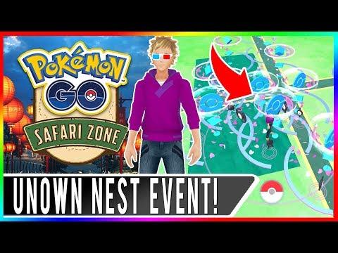 CRAZY UNOWN NEST COORDS! Taiwan Safari Zone Event at Chiayi Lantern Festival in Pokemon GO!