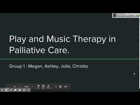Play & Music Therapy in Palliative Care