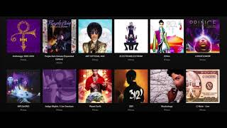 PRINCE - 1995-2010 Albums Now Streaming!