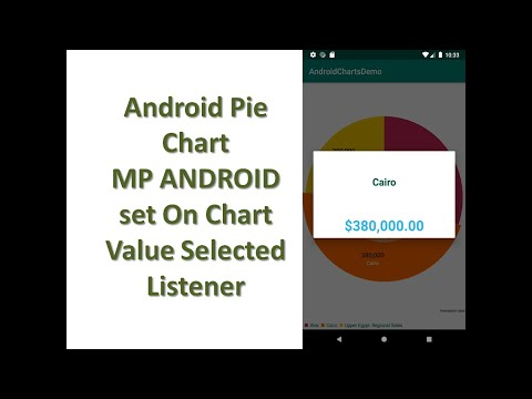 Pie Chart Android Set On Pie Value Selected Listener
