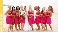 Bridesmaid dresses for beach wedding