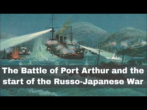 8th February 1904: Russo-Japanese War triggered by Japanese torpedo attack on Port Arthur