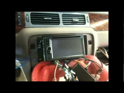 CHEVY SILVERADO 2012 HOW TO INSTALL A FULL SOUND SYSTEM RADIO , BYPASS BOSE , DOOR SPEAKERS
