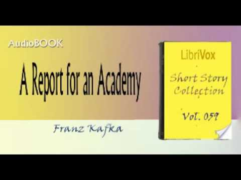 A Report For An Academy Franz Kafka Audiobook Youtube