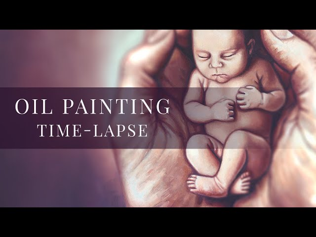 I Will Not Forget You » Oil Painting Time-lapse by tiSpark