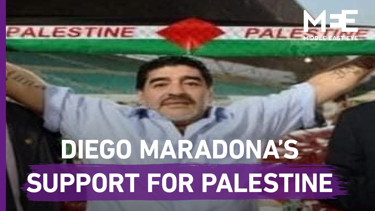 """In My Heart, I am a Palestinian"": Football legend, Diego Maradona, passes away at the age"