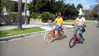 The San Diego Electric Bike Club Kilowatt Hour Group Ride---3/3/2013---Video #2