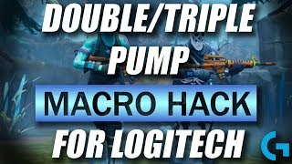 FORTNITE DOUBLE/TRIPLE MACRO HACK FOR LOGITECH (VALENTINE UPDATE)