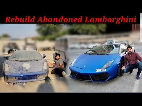 Pink Lamborghini Gallardo Abandoned Youtube