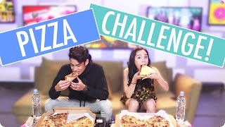 PIZZA CHALLENGE With VJ Donny And VJ Sunny!