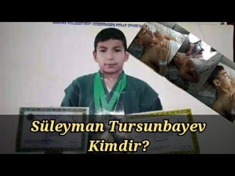 Süleyman Tursunbayev Kimdir?