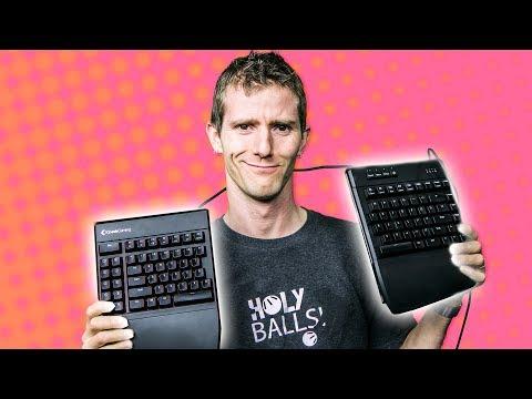 Gaming Keyboard that's SPLIT in HALF? -  Kinesis Freestyle Edge