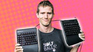 vuclip Gaming Keyboard that's SPLIT in HALF? -  Kinesis Freestyle Edge