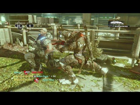 Gears of War 3 retro lancer Montage