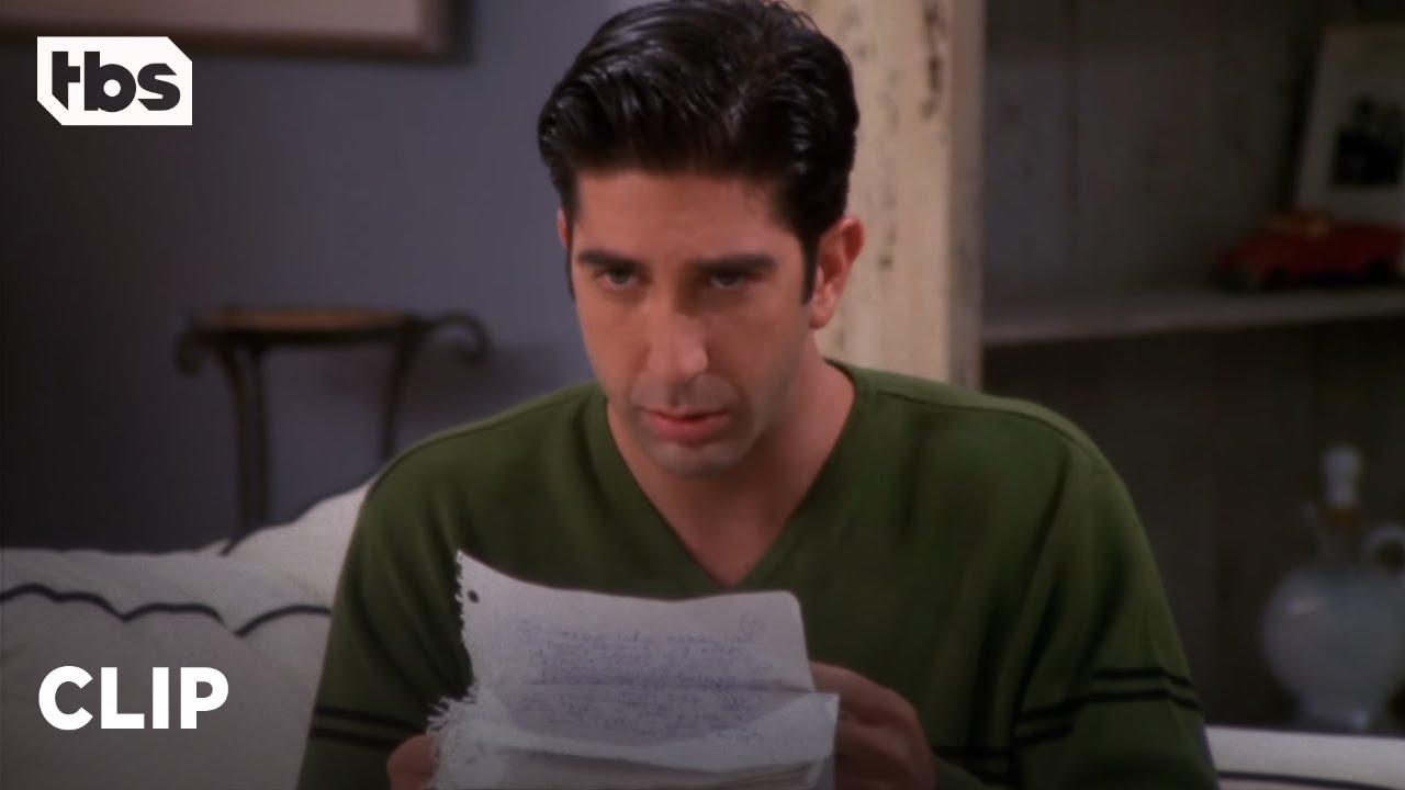 Download Friends: Ross Finally Reads Rachel's Letter (Season 4 Clip) | TBS