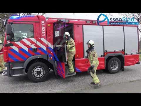 Brandweer wedstrijden 112 in  Smilde