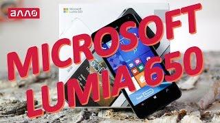Видео-обзор смартфона Microsoft Lumia 650(Купить смартфон Microsoft Lumia 650 Вы можете, оформив заказ у нас на сайте: ..., 2016-04-22T09:00:13.000Z)