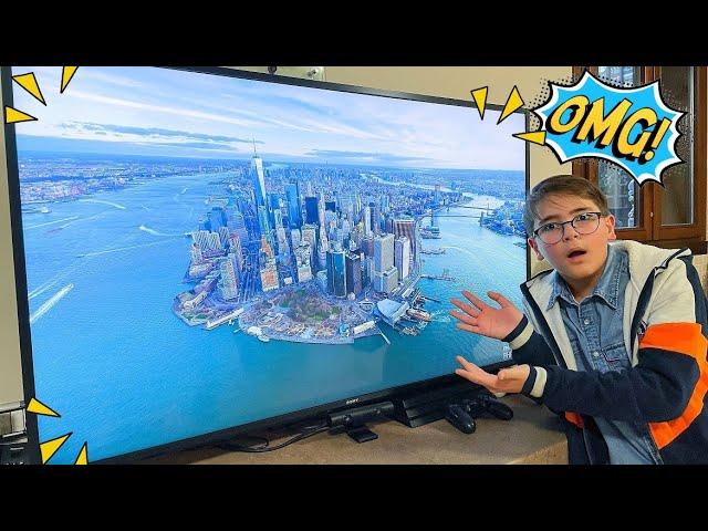 MI È ARRIVATA UNA TV ENORME! - Leo Toys