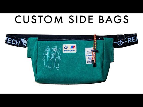9c7d713a5341c3 REAL100TECH CUT AND SEW FANNY PACKS AND CUSTOM STREETWEAR - YouTube