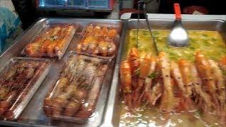 STREET FOOD NIGHT MARKET TAIWAN /Уличная еда на ночном рынке на Тайване