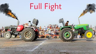 Tractor Tochan mahindra arjun 605 vs john deere 5310 full fight