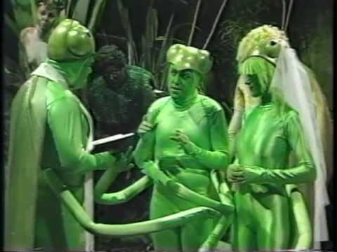 Alas Smith and Jones - Preying Mantis Marriage