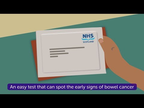 How To Do The Bowel Cancer Screening Test In Scotland Cancer Research Uk Youtube