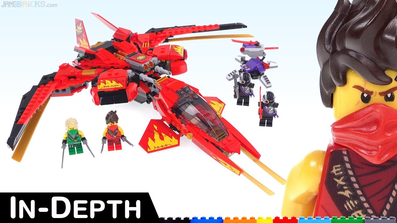 I Thought It D Be Better Lego Ninjago Legacy Kai Fighter Review 71704 Youtube