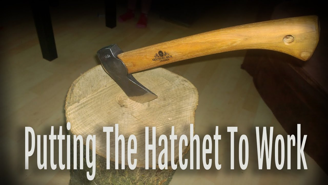Roughing Out a Spoon with a Wildlife Hatchet