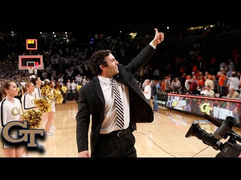 Josh Pastner Has Georgia Tech Buzzing About NCAA Tourney