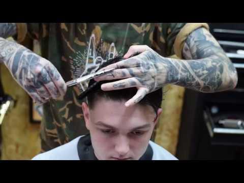 UK Barber Tutorial Video - Pick Up Tips From Jarred! #MatakkiScissors