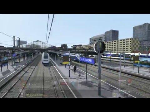 TS 2016 LGV NPDC LILLE FLANDRES PARIS NORD