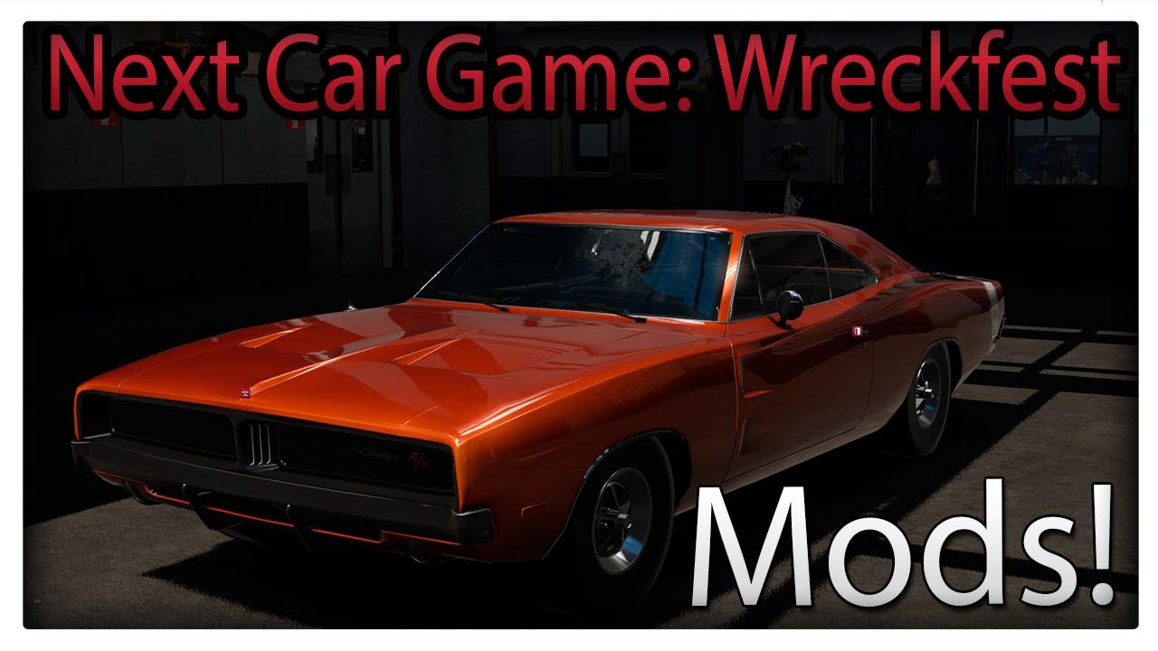 Dodge Charger RT Mod | Next Car Game: Wreckfest | Steam Workshop! - YouTube