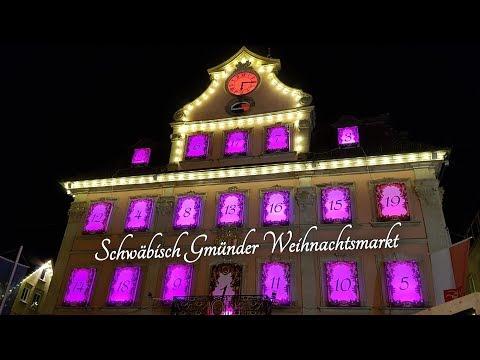 Schwäbisch Gmünd Weihnachtsmarkt.Schwäbisch Gmünder Weihnachtsmarkt 2018